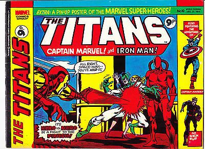 "The Titans No.10  : 1975 :   : ""Trapped...By Magneto!"" :"