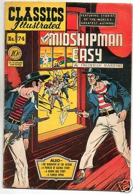Classics Illustrated : 74 : Midshipman Easy
