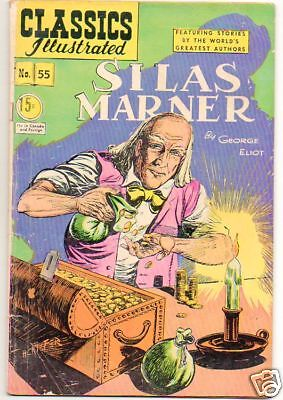 Classics Illustrated :: 55 :: Silas Marner