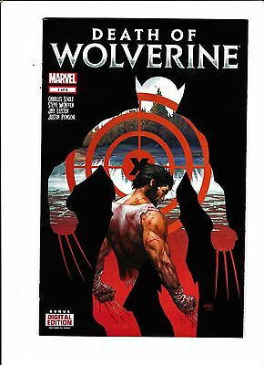 """Death Of Wolverine No.1  : 2014 :   : """"The End"""" Pt.1 :"""