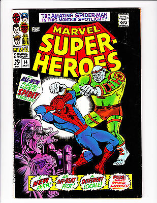 Marvel Super-Heroes  No.14    : 1968 :    : New Spider-Man Story! :