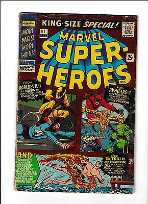 "Marvel Super-Heroes King-Size Special #1  [1966 Gd+]  ""the Space Phantom"""