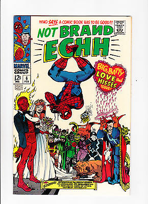 "Not Brand Echh  No.6   :: 1968 ::   :: ""Love & Hisses Issue!"" ::"