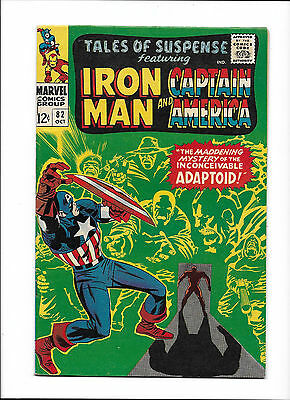 "Tales Of Suspense #82  [1966 Fn-Vf]  ""by Force Of Arms!"""