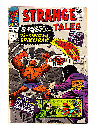"Strange Tales   No.132     :1965 :     : ""The Sinister Spacetrap!"" :"