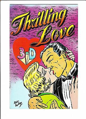 The 3-D Zone #17  [1989 Fn+]  Thrilling Love