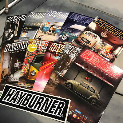 Hayburner Bulk Pack Issues 1 - 27  With *free Sticker*