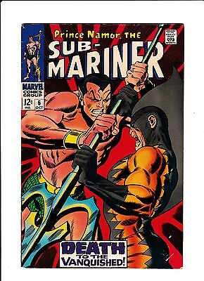 """Sub-Mariner No.6  : 1968 :   : """"Death To The Vanquished!"""" :"""