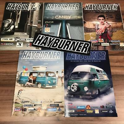 Hayburner Bulk Pack Issues 1 - 16  With *free Sticker*