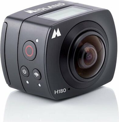 Action Cam Full HD Wifi microUSB 8 Mpx Angolo 180° Nero Midland C1287 H180