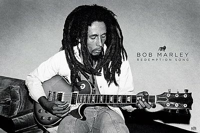 Bob Marley - Redemption Song - New Licensed Reggae Maxi Poster - 91.5cm x 61cm