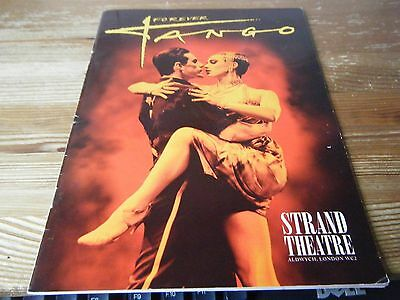 Theatre  Programme  -  Forever  Tango  -  At The Strand Theatre   Aldwych  Vgc