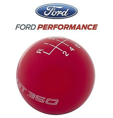 2016-2018 Shelby GT350 Ford Performance 6-Speed Gear Shifter Shift Knob Red
