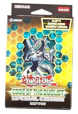 Konami Yu-Gi-Oh! TCG, Code of the Duelist Special Edition, New and Sealed