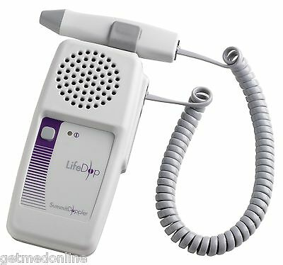 NEW ! Summit Non-display Handheld Fetal Doppler with Charger, L150R