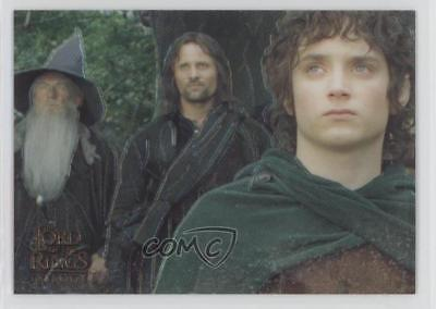 2004 Topps Chrome The Lord of the Rings Trilogy #P1 Frodo Aragorn Gandalf g2u