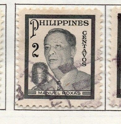 Philippines 1947-49 Early Issue Fine Used 2c. 173004