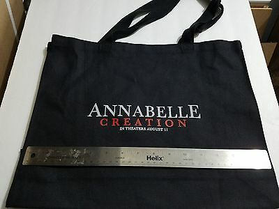 Annabelle Creation (2017) Movie Pomotional Tote Book Shopping Bag SWAG New