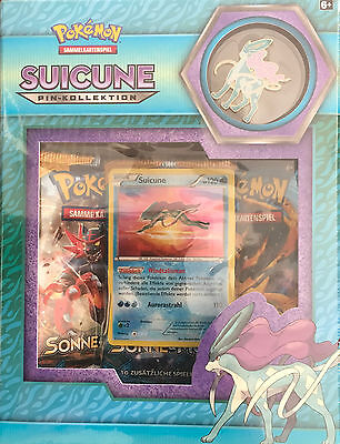 Pokémon TCG Pin Kollektion: Suicune
