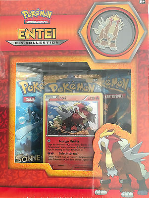Pokémon TCG Pin Kollektion: Entei