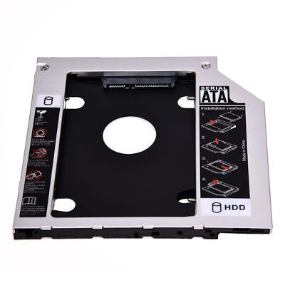 SATA 2nd Hard Disk Drive HDD Caddy Adapter for ThinkPad T400 T410 T500 R4 O9O7