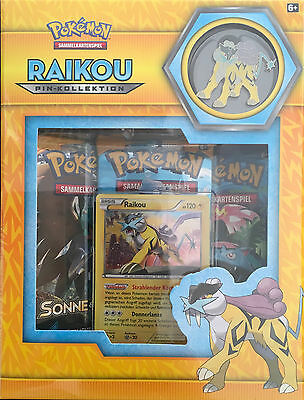 Pokémon TCG Pin Kollektion: Raikou