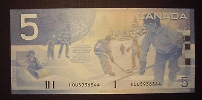 Canada 2005 BC-62bA $5 Replacement HOU596844 - ChUnc