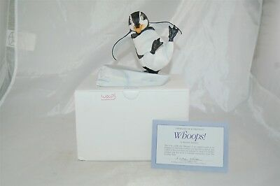 Franklin Mint Whoops by Michelle Emblem Penguin