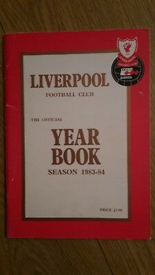Liverpool Fc Official Yearbook 1983-84