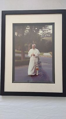 SALE! Vatican Pope John Paul I picture and relic