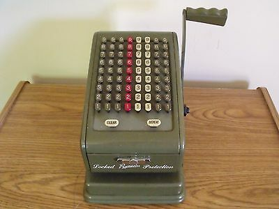 Vintage Paymaster check writer series 700, WORKS