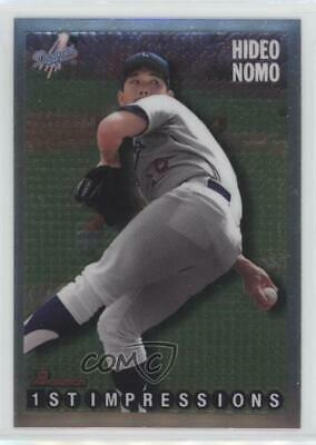 1995 Flair Wave of the Future #10 Hideo Nomo Los Angeles Dodgers Baseball Card Verzamelingen