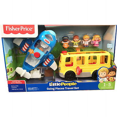Little People Going Places Travel Toy Set By Fisher Price (Ages 1-5)