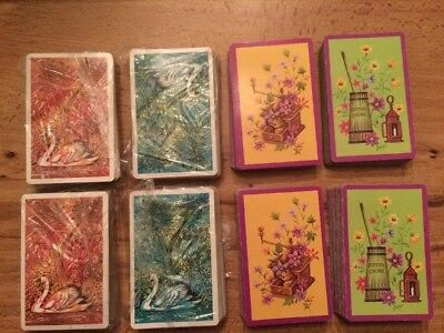 Lot Of 8 Used Decks Of Arrco Playing Cards Complete Decks No Jokers