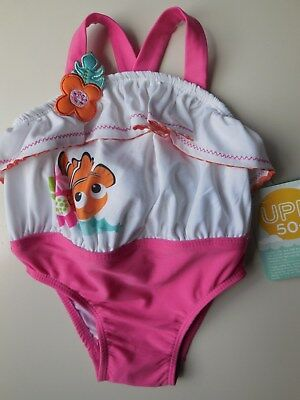 'disney' Baby Girl Bathers Swimwear Swimsuit Upf 50+ Size 0 Fits 9-12M *new
