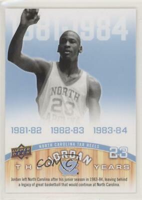Tar Heels Card 2010-11 UD North Carolina Basketball #180 Michael Jordan UNC