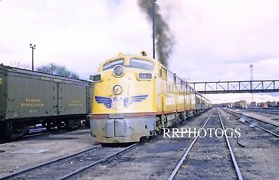 Rr Print Union Pacific Up Passenger Action Emd E6A Locomotive #987