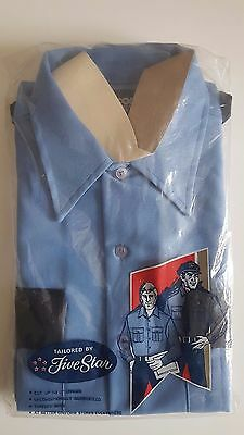 Vintage obsolete Police Officer uniform shirt