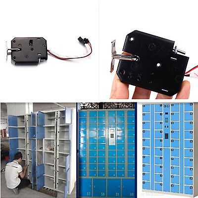 1X DC 12V 2A Electromagnetic Electric Control Cabinet Mail Box Drawer Lock Latch