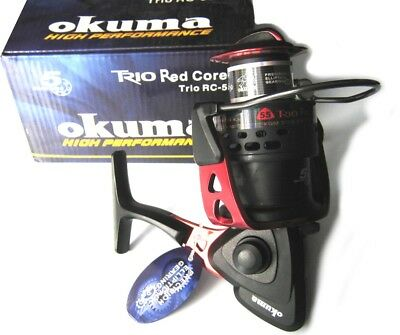 Moulinet Okuma Trio Red Core Rc-55 Neuf