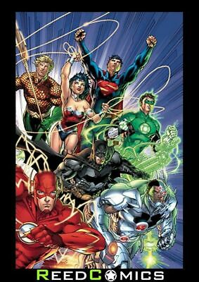 ABSOLUTE JUSTICE LEAGUE ORIGIN HARDCOVER (360 Pages) New Boxed Hardback