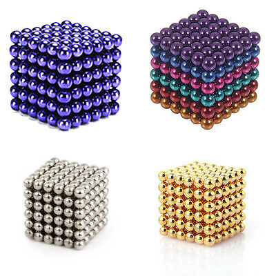 5mm 216pcs Magnet Balls Magic Beads 3D Puzzle Ball Sphere Magnetic Kids Gifts