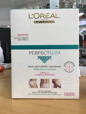 L'oreal Perfect Slim Patch X6 Anticellulite Con Caffeina