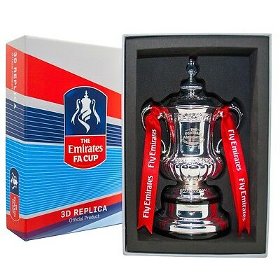 Brand New Official Fa Cup Replica Trophy 100Mm