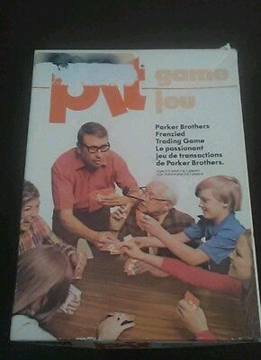 Vintage 1964 Pit Card Game by Parker Brothers Bilingual Rare