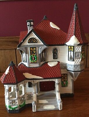 Department 56 The Original Snow Village Queen Anne Victorian Lighted House