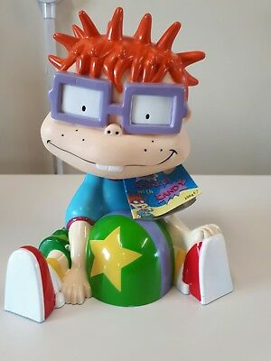 Rugrats Chuckie Coin Box Moneybox Vintage 90's sealed Sweets Unused slot sealed