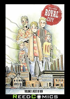 ROYAL CITY VOLUME 1 NEXT OF KIN GRAPHIC NOVEL New Paperback Collects Issues #1-5