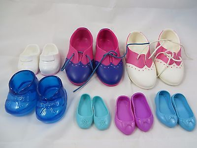 Doll Shoes 7 Plastic Disney Slip On Mixed Lot Heels Lace Replacement Shoes