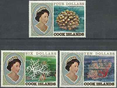 Timbres Faune marine Cook 665/7 ** lot 789 - cote : 75,00 euros